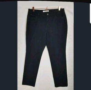 Croft & Barrow stretch 14L skinny boot pant black
